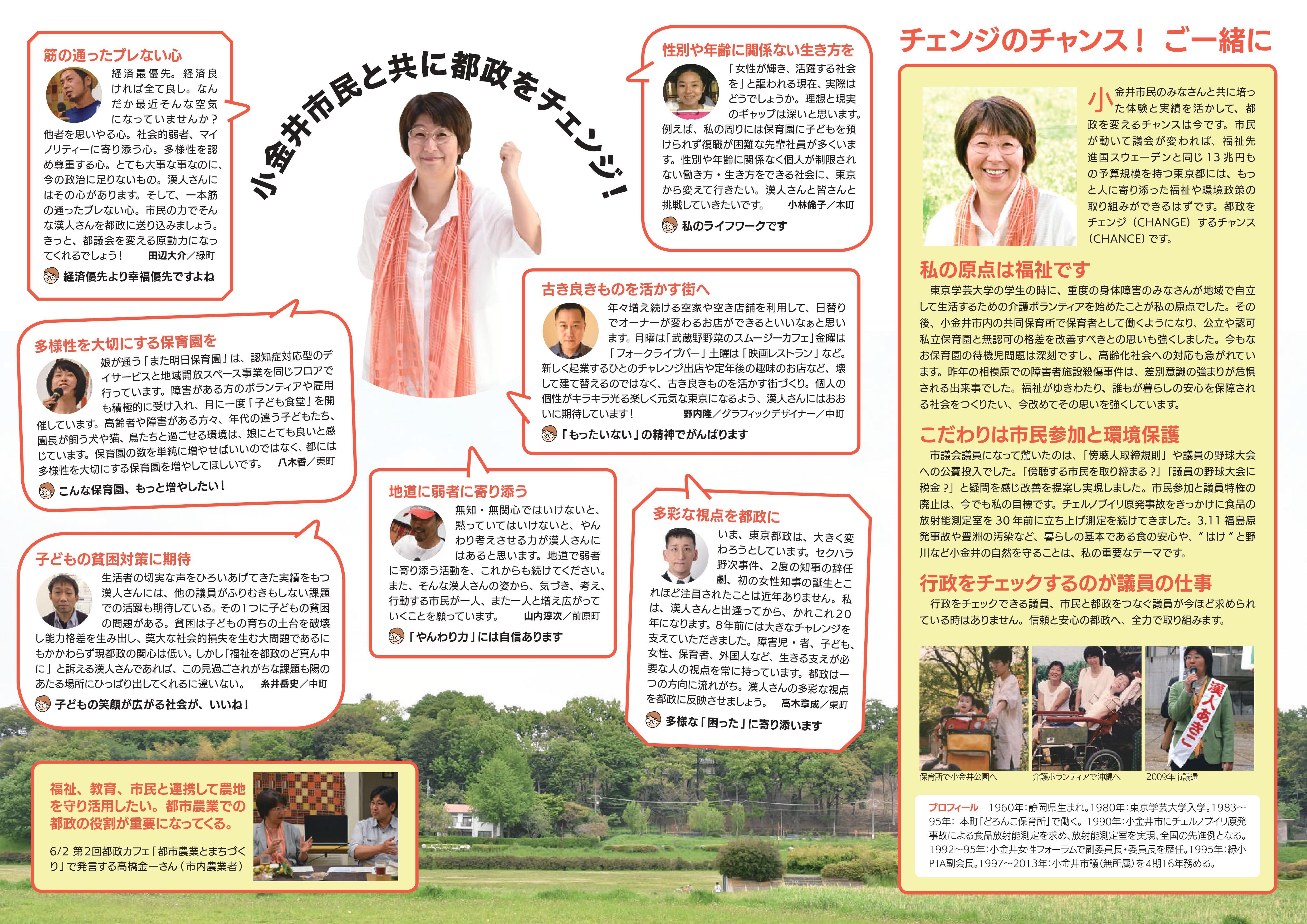 チェンジ東京!小金井の会ニュース 5号-裏